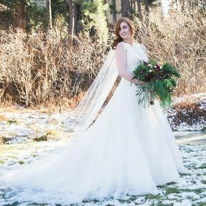 Wedding gown- limited design! Size 8 altered